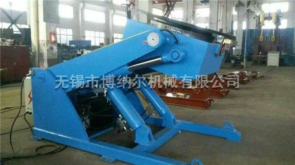 Hydraulic lifting positioner